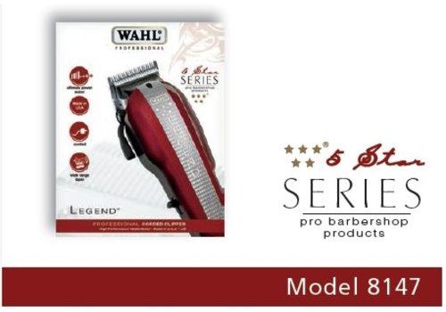 Wahl WAHL 5-STAR LEGEND, BORDEAUX/ZILVER