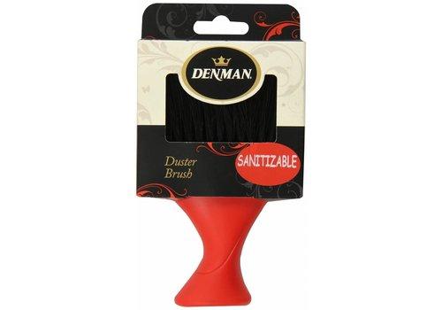 Denman Denman D78 Nekborstel Zwart/Rood