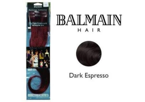 Balmain BALMAIN CLIP TAPE EXTENSION 25CM DARK ESPRESSO