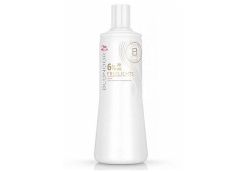 Wella WELLA BLONDOR FREELIGHTS EMULSION 6% 1000ML