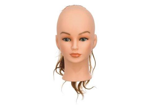Sinelco Haarstukje Middenbruin 25-35 Cm