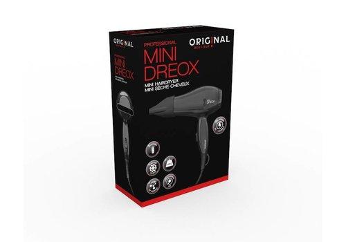ORIGINAL! Best buy MINI HAARDROGER 1100W DC ZWART 220/240V/110V ORIGINAL BEST B