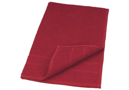 Sinelco Handdoek Bob Tuo 50X85 Wijnrood