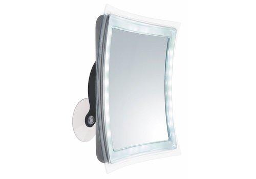 Sinelco Vienna Square Super Bright Suction Led Mirror X5