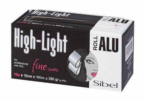 Sinelco HIGH-LIGHT 12µ ROL ALUMINIUM 100M X 12CM SIBEL