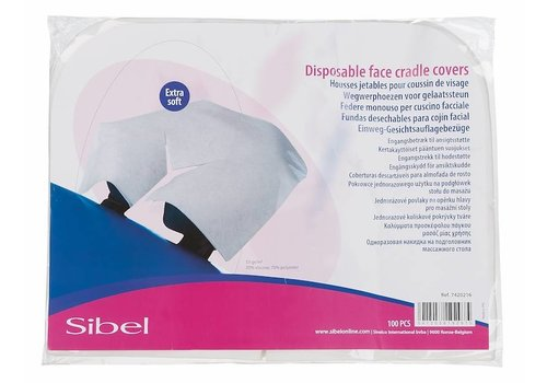Sibel DISPOSABLE SOFT FACE REST COVER 100PCS