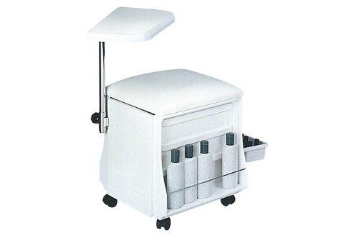Sinelco Tafel En Stoel Voor Manicure Wit