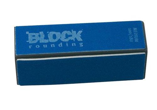 Sinelco NAGELPOLYSTER BLOCK ROUNDING 100/180 MEDIUM 2ST