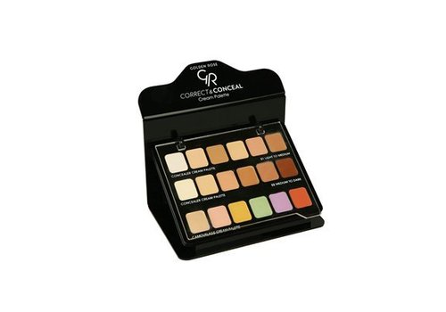 Golden Rose GOLDEN ROSE CONCEALER & CAMOUFLAGE DISPLAY