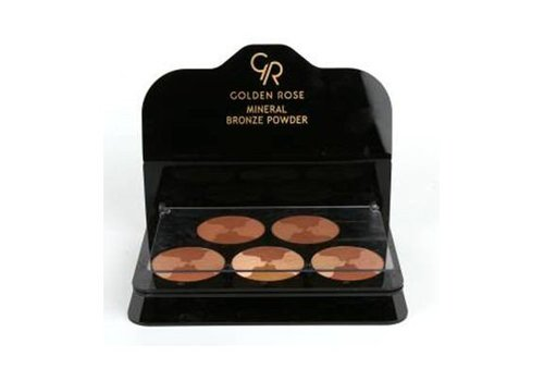 Golden Rose MINERAL BRONZE POWDER DISPLAY