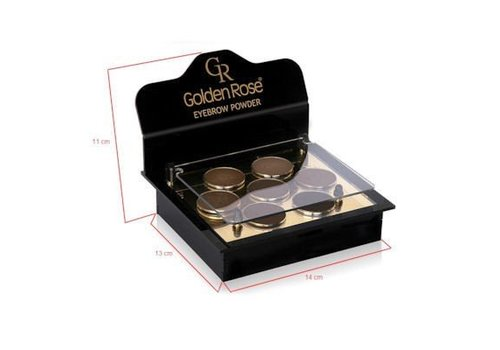 Golden Rose GOLDEN ROSE EYEBROW POWDER DISPLAY