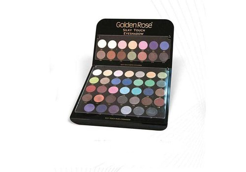 Golden Rose GOLDEN ROSE SILKY TOUCH MIX EYESHADOW DISPLAY
