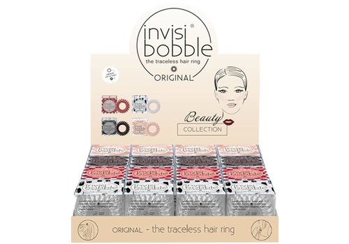Invisibobble INVISIBOBBLE 16 IN DISPLAY BEAUTY COLLECTION