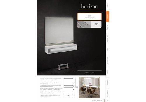 Salon Ambience HORIZON WIT STYLING UNIT MET LED LIGHTING