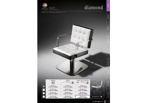 Salon Ambience DIAMOND CHAIRTOP METOUT SEAT BRACKET