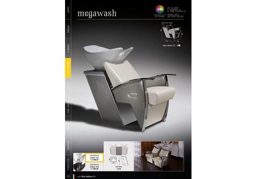 Salon Ambience MEGAWASH GREY LINK UNIT