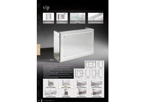 Salon Ambience Vip Corner Cabinet Met Two Spiegels