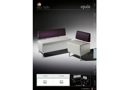 Salon Ambience OPALE TWO SEATER POUF