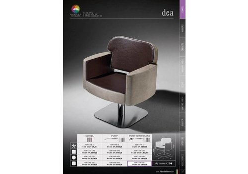 Salon Ambience DEA PLASTIC BACKREST COVER,WIT STRIP
