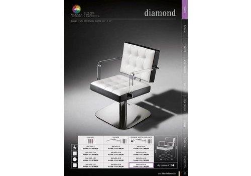 Salon Ambience DIAMOND VASTE POOT, AFGERONDE PLAAT
