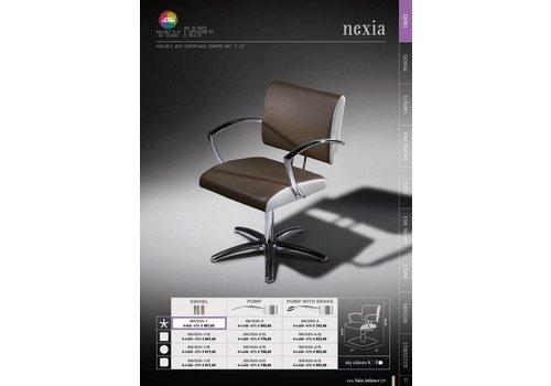 Salon Ambience Nexia Plastic Backrest Cover,Zwart Strip