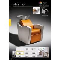 Advantage+ Wash Unit Witte Wasbak