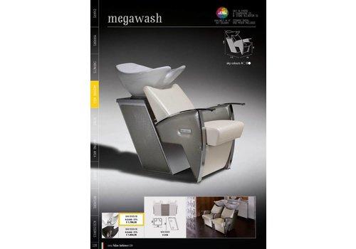 Salon Ambience MEGAWASH SHAMPOO UNIT WITTE WASBAK