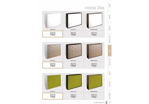 Salon Ambience VENUS WIT DESK, WIT PVC FRONT