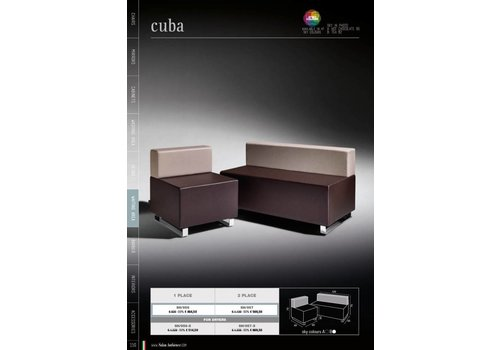 Salon Ambience CUBA TWO SEATER