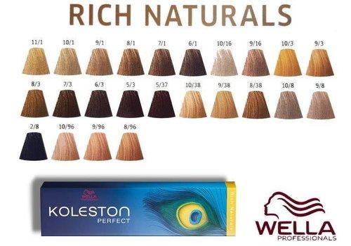 Wella WELLA KOLESTON RICH NATURALS 6/3 60ML