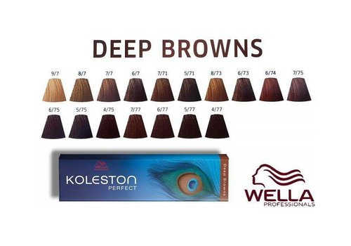 Wella Wella Koleston Deep Browns 6/77 60ML
