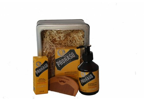 Proraso Proraso Beard Grooming Gift Box Wood & Spice