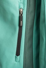 Groen softshell jack