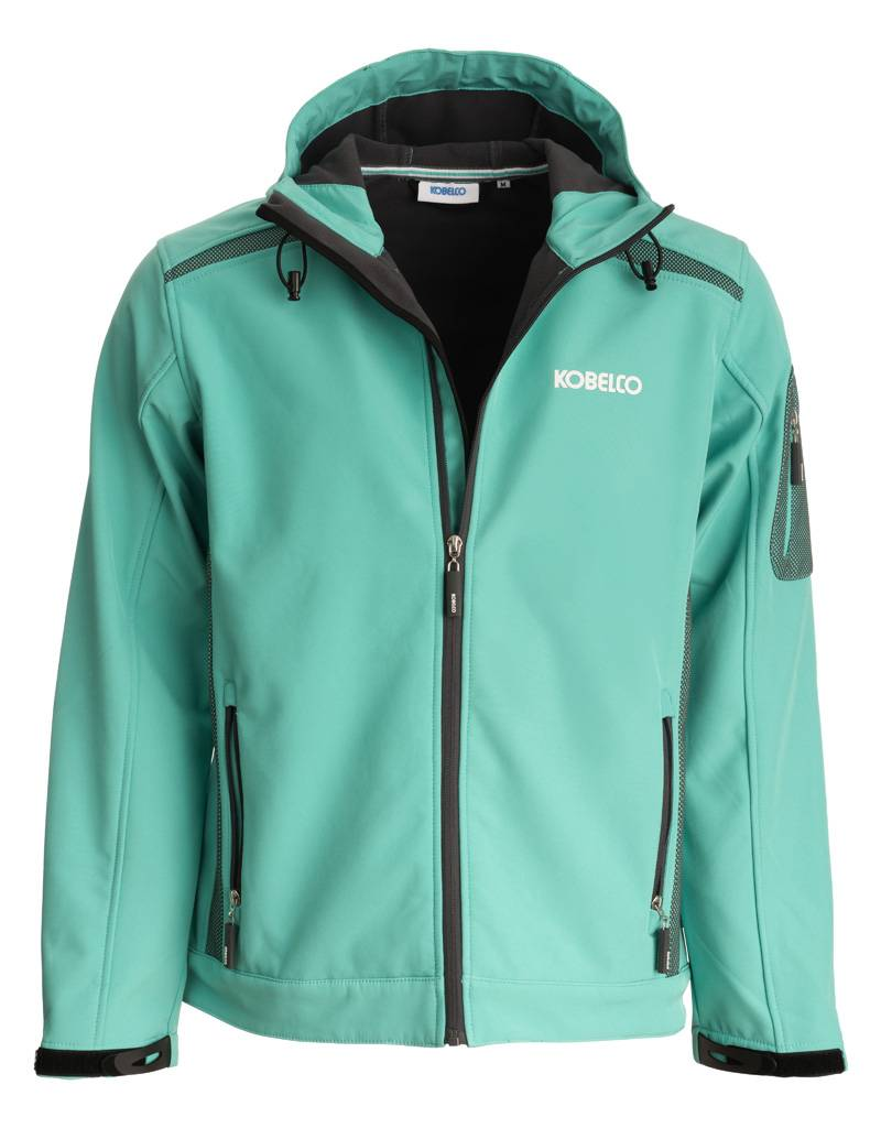 Giacca in Softshell verde