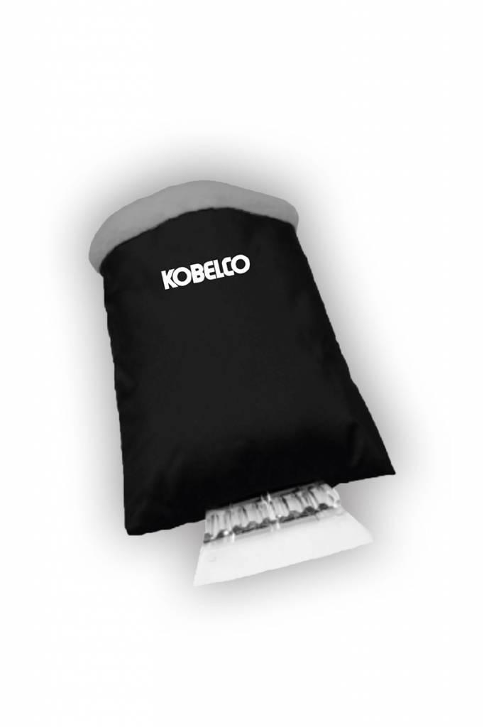 Kobelco Eiskratzer mit Handschutz