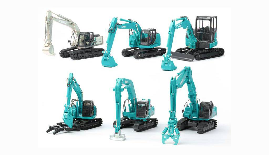 Kobelco Scale Model Update