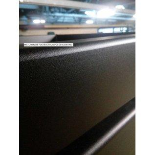 Stalen U-poot salontafel