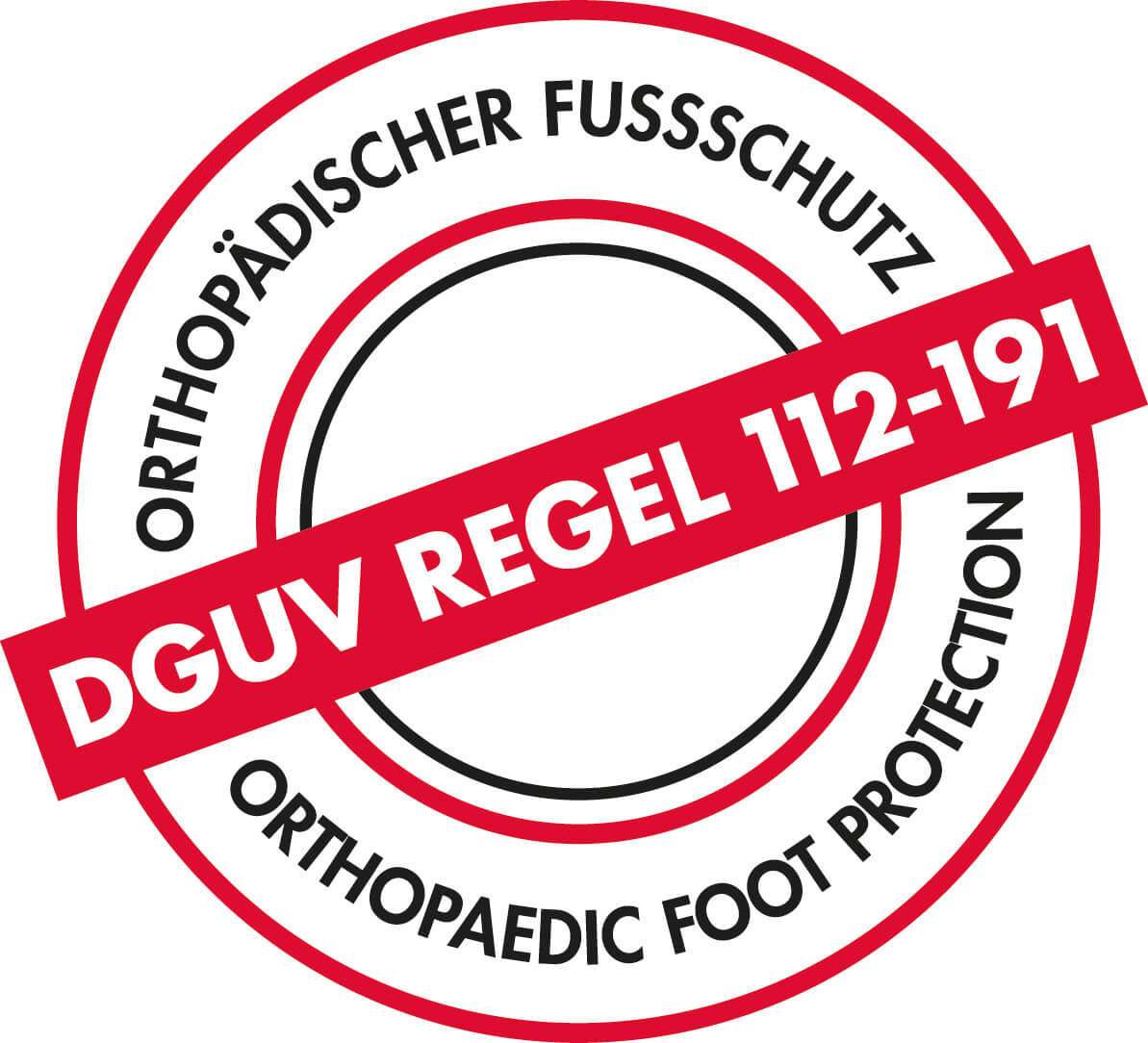 orthopedische inlegzool DGUV-regel