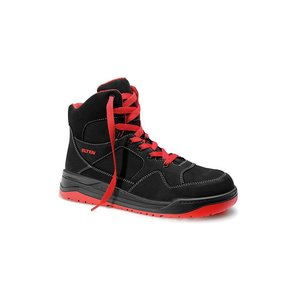 Elten  Maverick black red mid esd S3