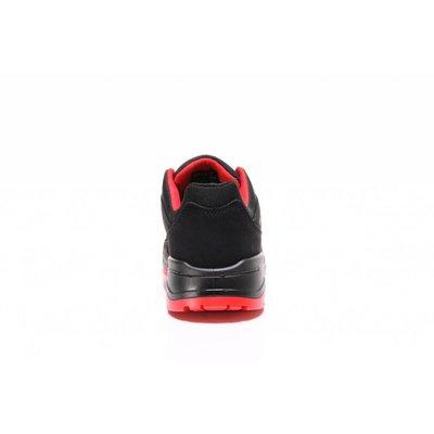 Elten  Maverick black red low esd S3