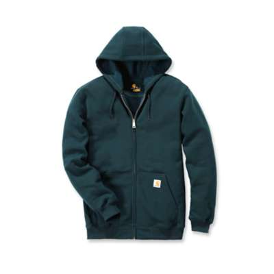 Midweight hooded zip