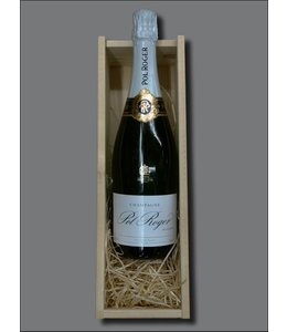 Champagne Pol Roger Réserve Brut + kistje