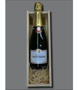 Champagne Taittinger Brut Réserve + kistje