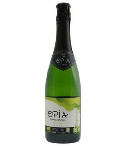 Opia Chardonnay Organic - alcohol vrije wijn mousserend