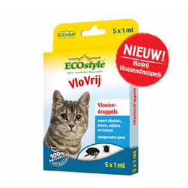 EcoStyle VloVrij druppels kat