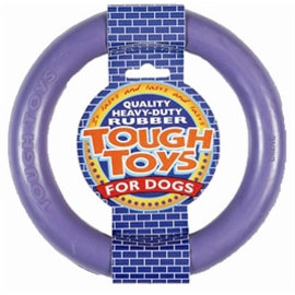 Happy Pet Tough Toy Rubber Ring 15x15x2,5cm