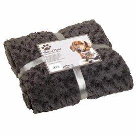 Nobby Deken Fleece 100x150 L.Grijs