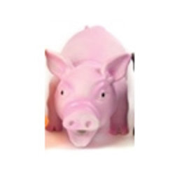 Doggy Dolittles Latex Zwijn 20cm Roze