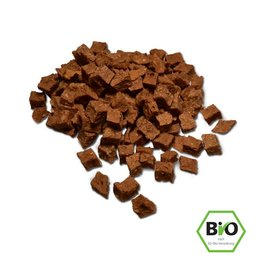 Cold & Dog Chicken cubes dried 100% Organic 100gr