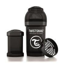 TwistShake babyfles antikoliek 180 ml - Zwart